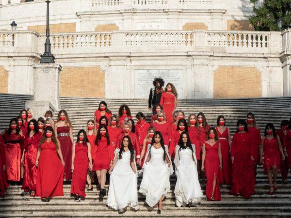 Donne al concerto contro la violenza
